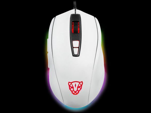 біла ігрова мишка MOTOSPEED V60 5000DPI