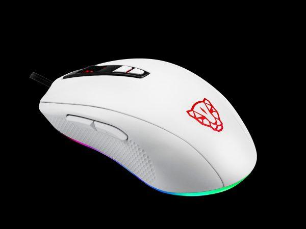 ігрова миша MOTOSPEED V60 5000DPI в три чверті ззаду