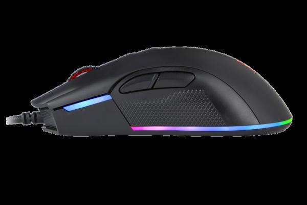Миша MOTOSPEED V70 12000DPI зліва