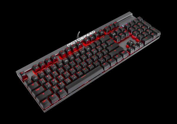 Клавіатура MOTOSPEED CK103jor в три чверті