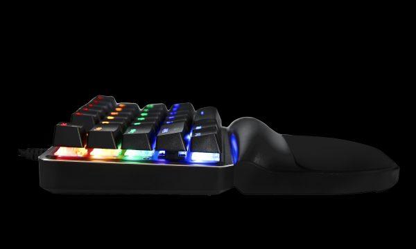 Клавіатура MOTOSPEED K27 в профіль