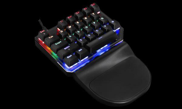 Клавіатура MOTOSPEED K27 в три чверті