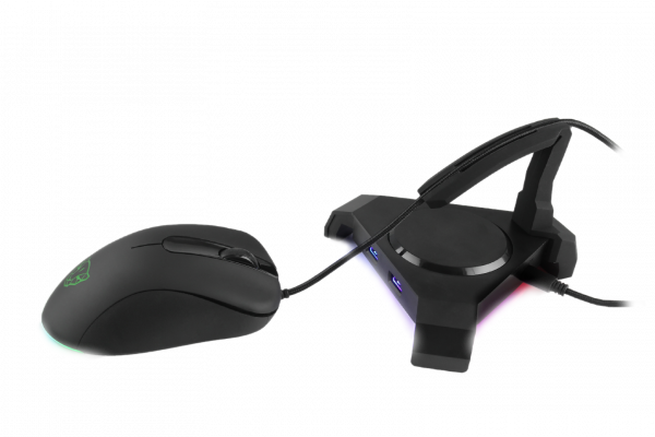 usb-hub Motospeed Q20 з мишою